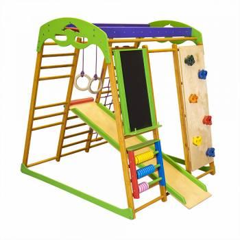 Детский спортивный комплекс для квартиры SportBaby «Карамелька 1»