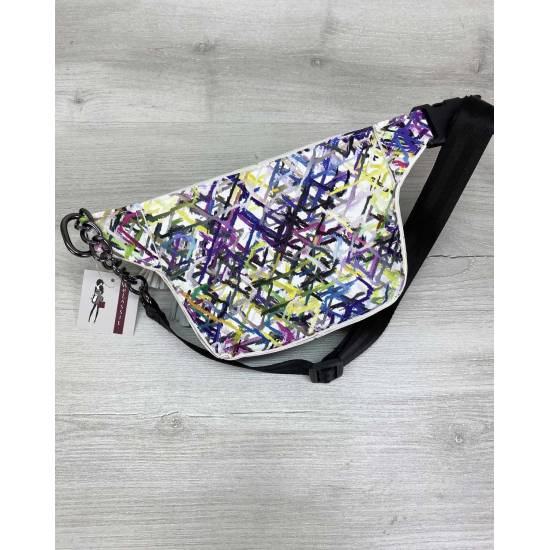 Разноцветная сумка на пояс