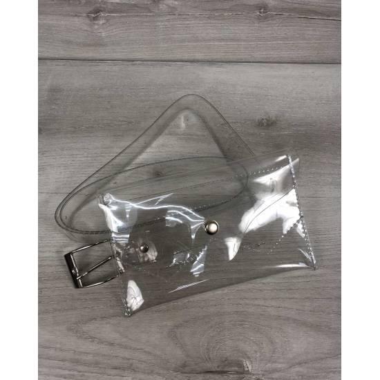 Летняя силиконовая сумка на пояс