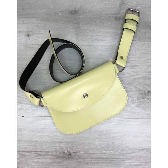 Женская сумка желтого цвета