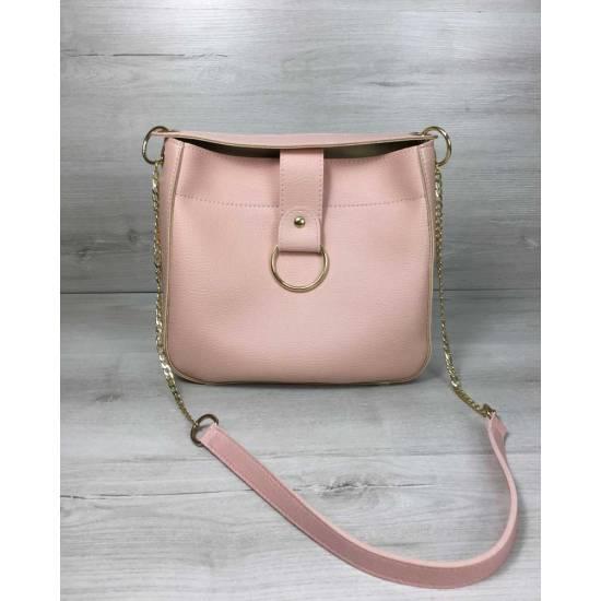 Модная розовая сумочка